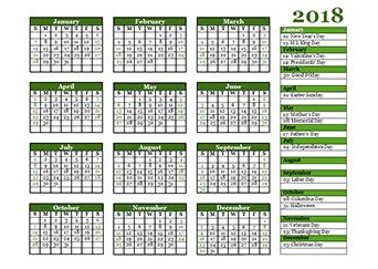 2018 calendar template calendarlabs 2018 calendar templates 2018 monthly yearly templates with holidays