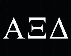 alpha xi delta sticker etsy With alpha xi delta greek letters