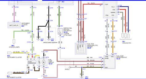 Ford Fuel Pump Wiring Diagram
