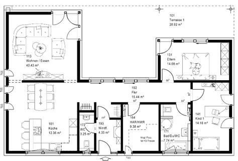 Grundriss Bungalow U Form by Hausbau Design Award 2014 3 Platz Bungalows Okal Haus Fn110