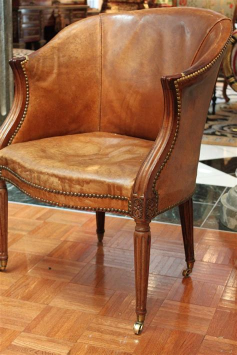 carved sheraton desk chair 18th century for sale at 1stdibs