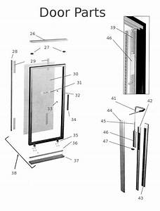 Storm Door Handle Parts Diagram