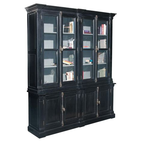 Bookcase China Cabinet by The Bookcase China Cabinet Black At Hayneedle
