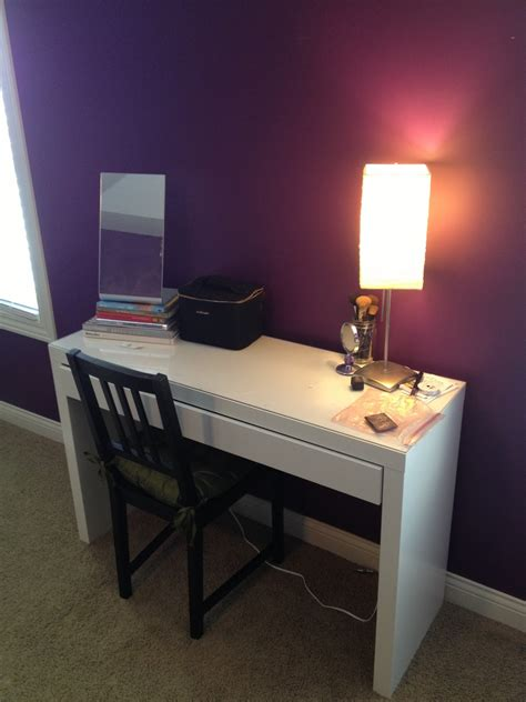 desk mirror with lights furniture bedroom vanity sets with black stained wooden