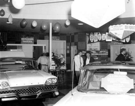 ford dealership  vintage shots  days