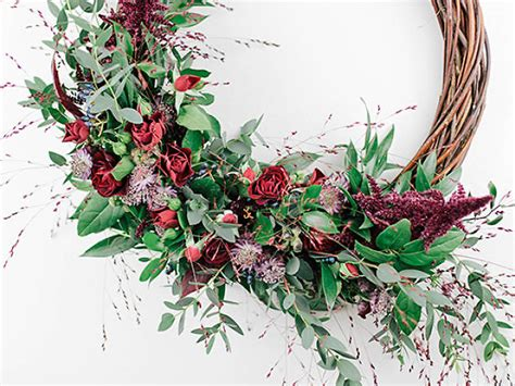 wreath making workshops     london
