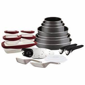 Batterie Cuisine Tefal : batterie tefal ingenio 20 pieces comparer 34 offres ~ Melissatoandfro.com Idées de Décoration