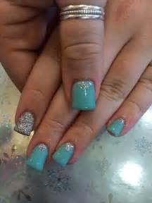 Mint green nails would match ur dress alexis renee winter nail designs