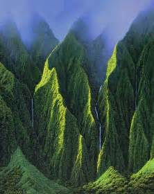Koolau Mountains Oahu Hawaii