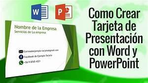Como hacer tarjetas de presentacion en 5 minutos con power for Como hacer un invoice en la computadora
