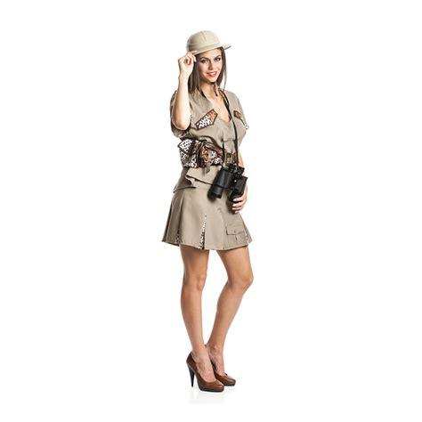 karneval kostüm damen safari kost 252 m damen dschungel karneval kost 252 m urwald fasching 36 38 40 42 44 46 ebay