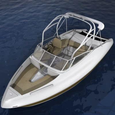 Rc Yamaha Boat by Yamaha Boats 3d Model