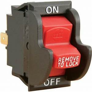 Shop Fox Safety Toggle On  Off Switch For 110  220 Volt 10