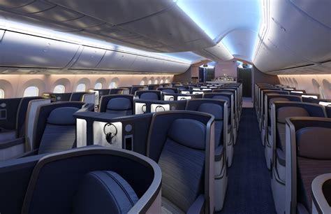 boeing 787 cabin tui 787 dreamliner lands in for time