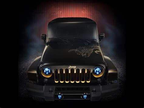 2012 Jeep Wrangler Dragon Design Concept Static Wallpapers