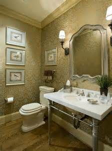 Traditional Powder Room Design Ideas