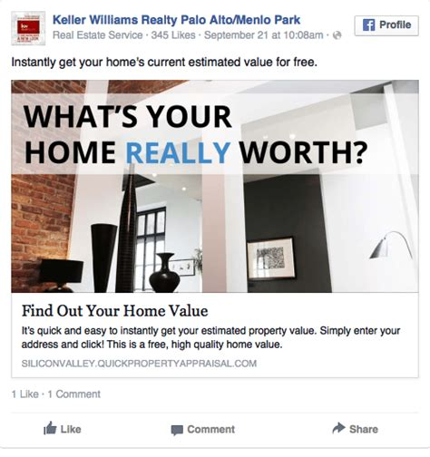 real estate ads  examples   pros