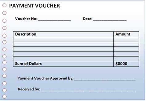 payment voucher template microsoft word templates