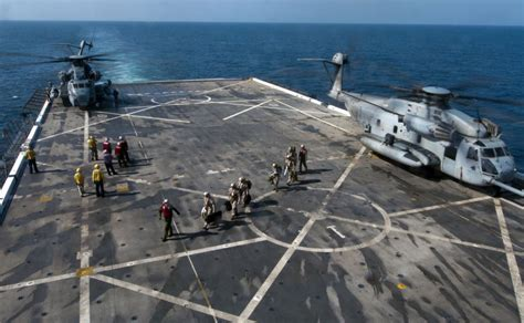Flight Deck Island by Dvids Images Flight Deck Operations Aboard Uss Makin