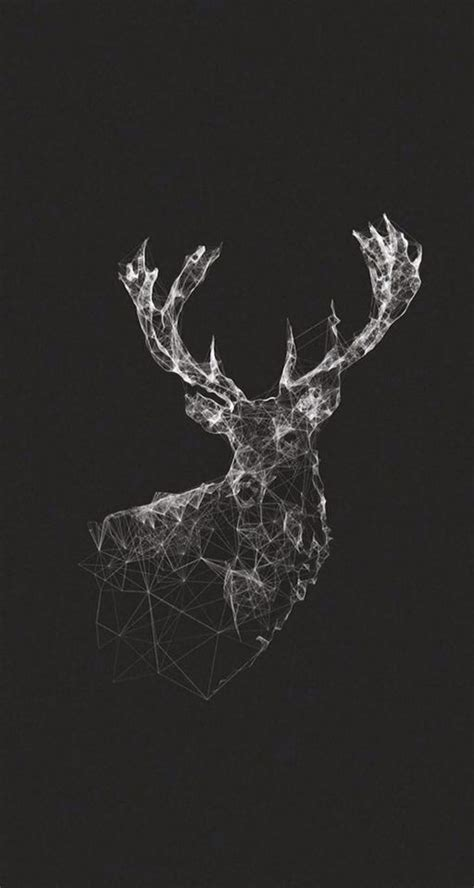 image result  deer aesthetic animals geometric