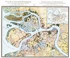 1821. Map of Saint-Petersburg, #Russia   St. Petersburg ...