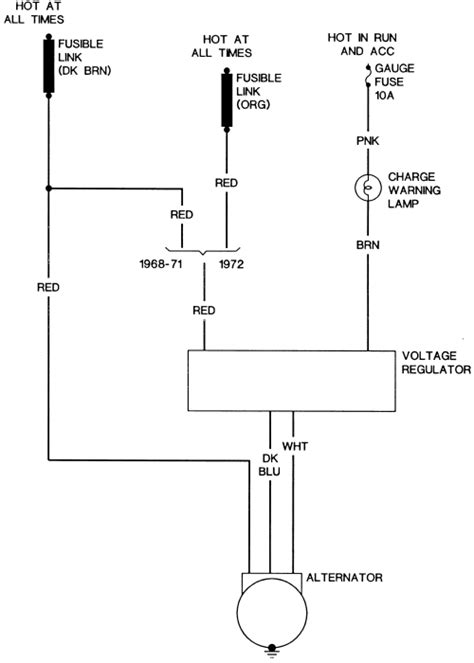 1971 F100 Charging System Wiring Diagram by Repair Guides Wiring Diagrams Wiring Diagrams