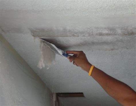 remove popcorn ceiling texture dukes painting