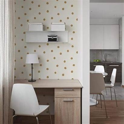 Stick Peel Gold Removable Dots Repositionable Decals