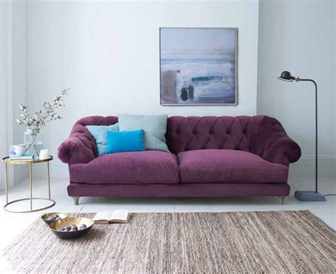 Purple Contemporary Sofa by Best 25 Purple Sofa Ideas On Purple Sofa