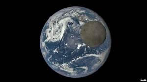 Nasa satellite captures rare image of far side of moon ...