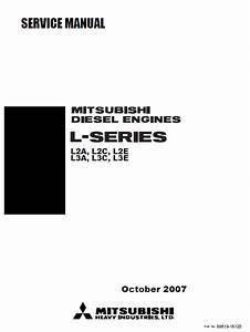 Download Mitsubishi Diesel Engine L