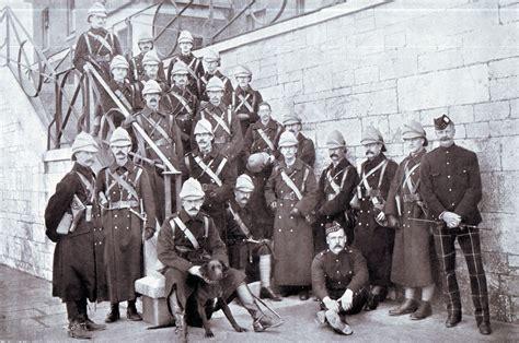Officers Of 1st Highland Light Infantry Embarking For