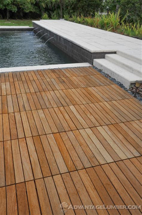 Ipe Deck Tiles Maintenance by Miami Ipe Deck Tiles Contemporary Pool Miami By