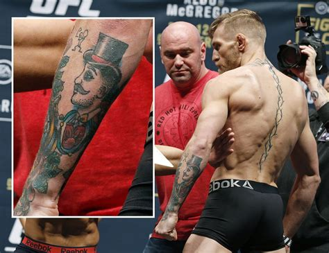 As Tatuagens De Conor Mcgregor  Tattoo  O Globo
