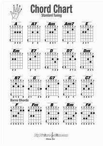 Empty Guitar Chord Chart Lovely Chord Chart For Guitar