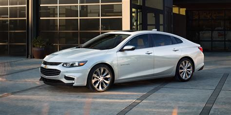 chevrolet malibu white color side view  uhd