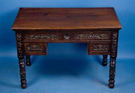 Victorian Oak Writing Desk For Sale Antiquescom