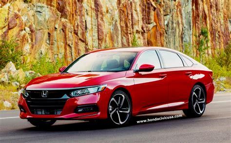 2020 Honda Accord by 2020 Honda Accord Sedan Review Honda Civic Updates