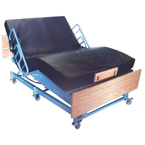 medline kings pride full electric bariatric bed hospital bed