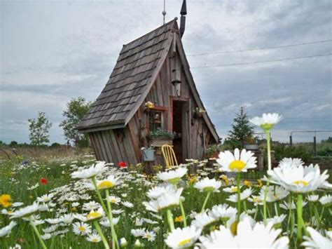 A Craftsman's Fairy Tale Cottages Built With Reclaimed