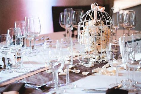 decoration mariage en chocolat et p 234 che avec cage oiseau