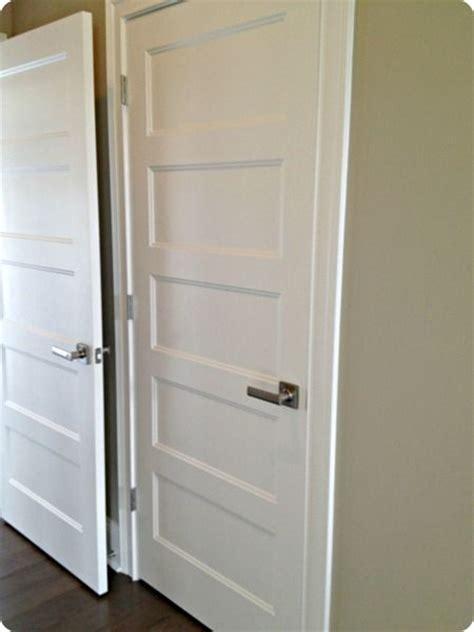 interior door handles for homes five panel doors with handles future home inspiration pinterest doors brushed nickel and