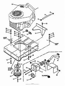 Snapper Lt180h48fbv2 48 U0026quot  18 Hp Hydro Drive Tractor Series F Parts Diagram For Engine Components