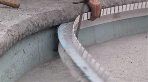 concrete countertop forms concrete countertop solutions announces new pool coping