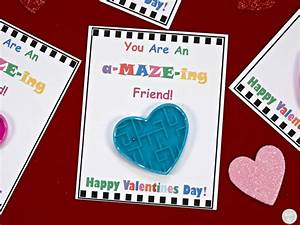 DIY Valentine's Day Cards for Kids with Free Printable ...