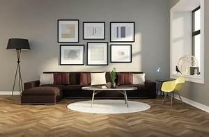 Braune Möbel Passende Wandfarbe Braune Ledercouch Und Nussbaum M