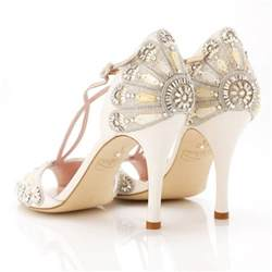 beautiful wedding shoes 1920s accessories deco weddings