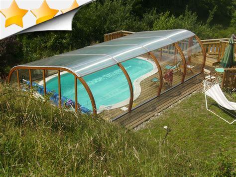 fabrication vente d abri de piscine bois et alu abris piscines conception
