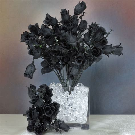 360 Mini Silk Roses Buds Flowers Bushes For Wedding