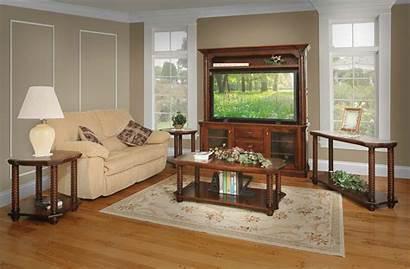 Living Amish Lexington Furniture Table Sets End